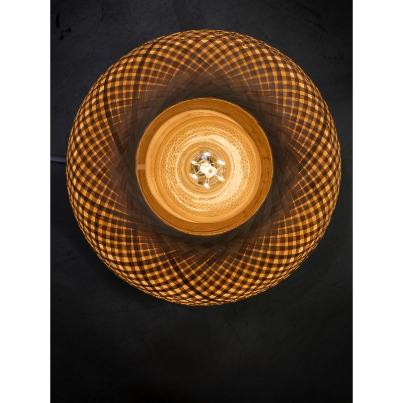 Lampada da tavolo MEKONG XL di bambù (bianca, naturale) - image 45407