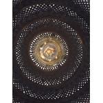 Lampe à suspension en bambou PALAWAN (noir)