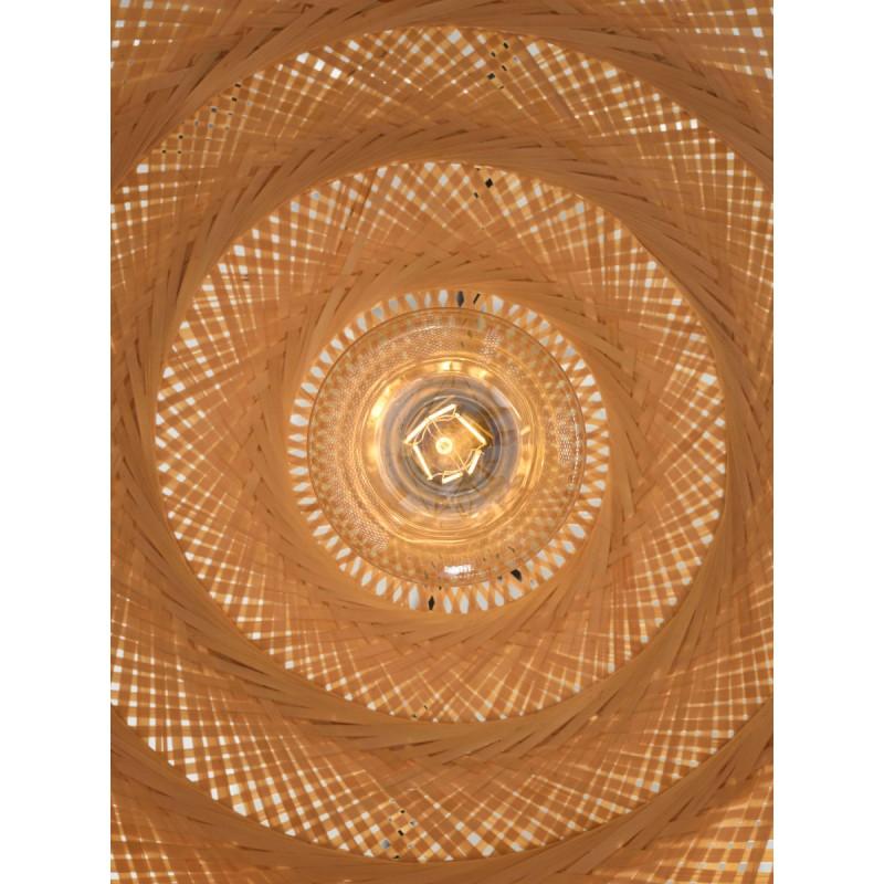 PALAWAN bamboo suspension lamp (natural) - image 45424
