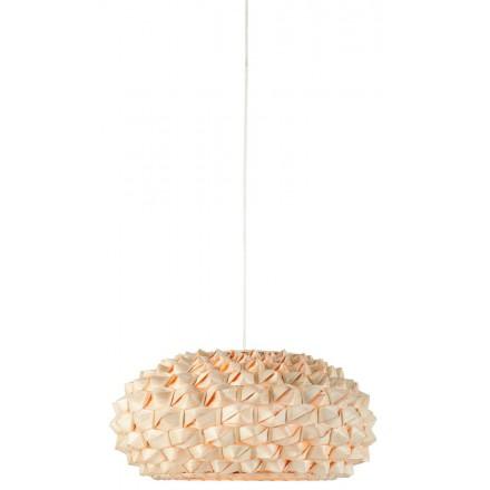 Lámpara de suspensión de bambú SAGANO SMALL (natural)