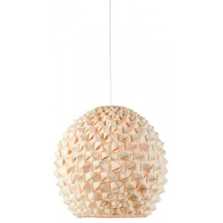 Lámpara de suspensión de bambú SAGANO XL (natural)