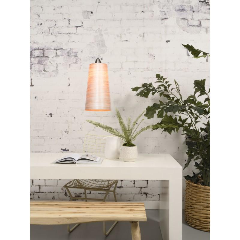 Lampe à suspension en abaca SAHARA XL (naturel) - image 45515