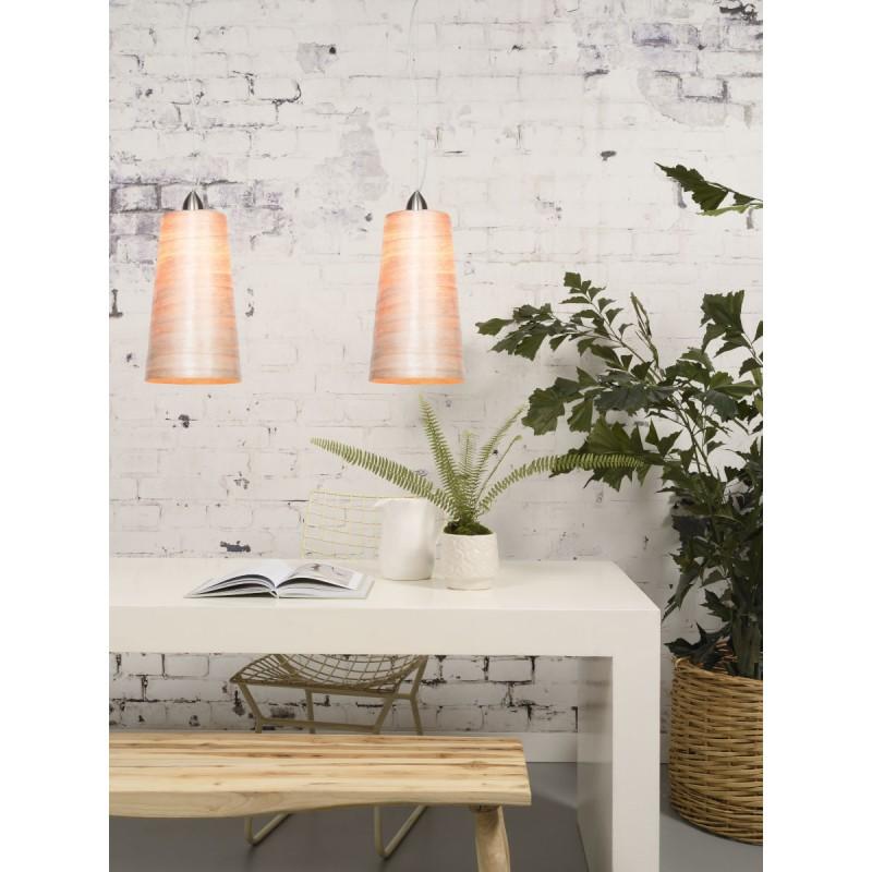 Lámpara de suspensión Sahara XL abaca (natural) - image 45516