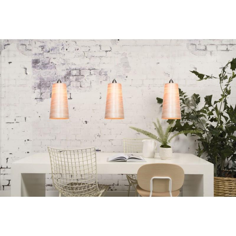 Lampe à suspension en abaca SAHARA XL (naturel) - image 45517