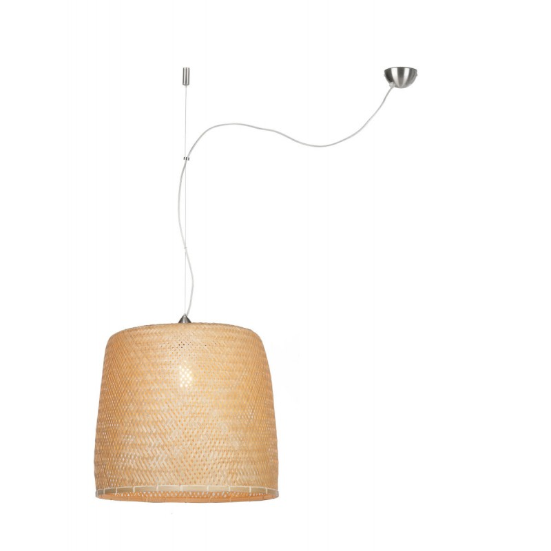 SERENGETI Bambus Hängeleuchte 1 Lampenschirm (natürlich) - image 45554