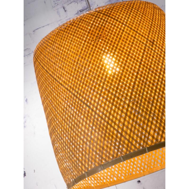 SERENGETI Bambus Hängeleuchte 1 Lampenschirm (natürlich) - image 45559