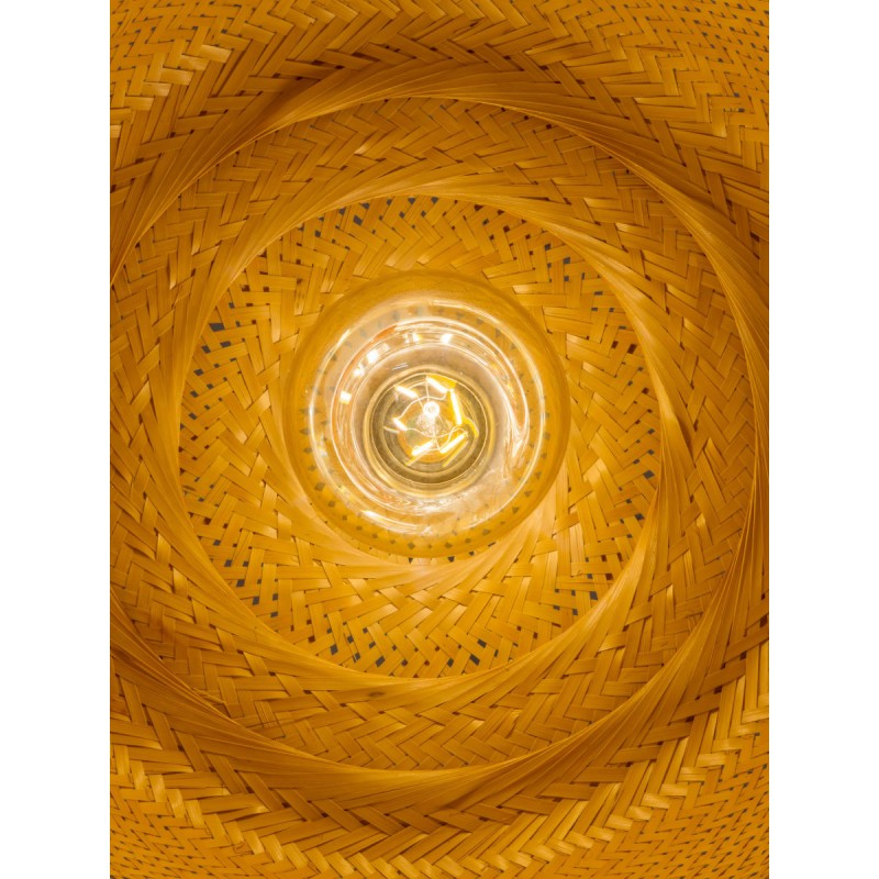 Lámpara de suspensión de bambú SERENGETI 2 pantallas (natural) - image 45568