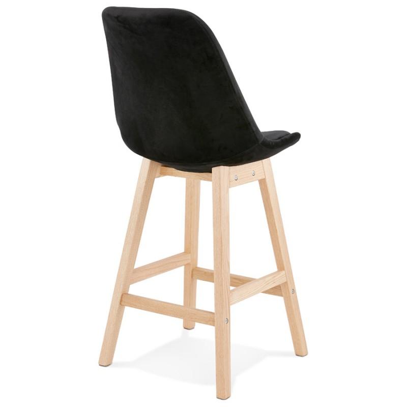 Pad a barre a media altezza Design scandinavo in piedi di colore naturale CAMY MINI (nero) - image 45595