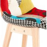 Barra de barra de parche bohemio de altura media en tejido MAGIC MINI (multicolor)