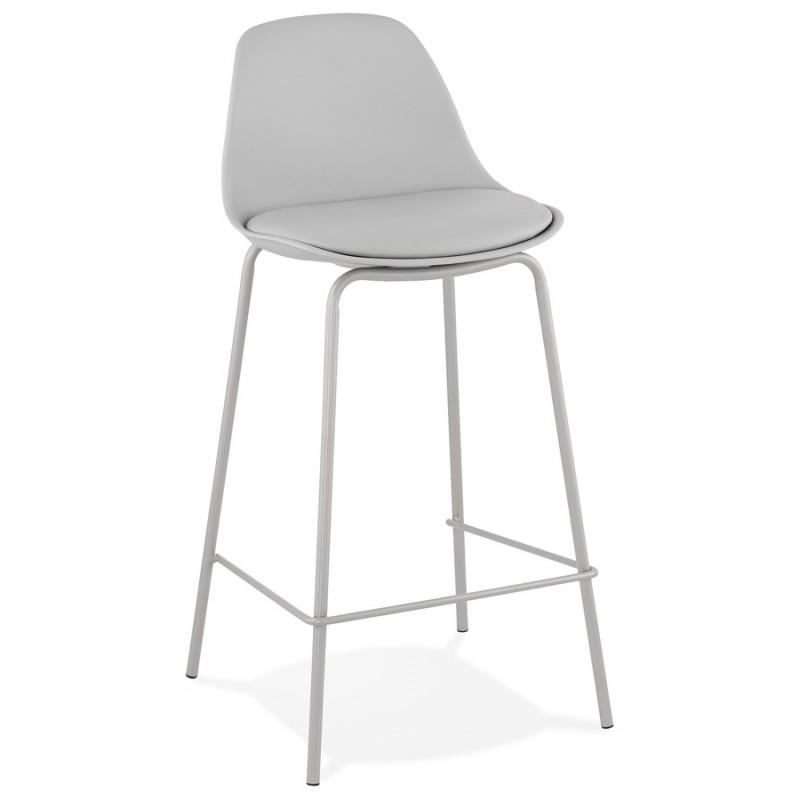 Bar pad a media altezza vintage piedi grigio chiaro OCEANE MINI (grigio chiaro) - image 46659