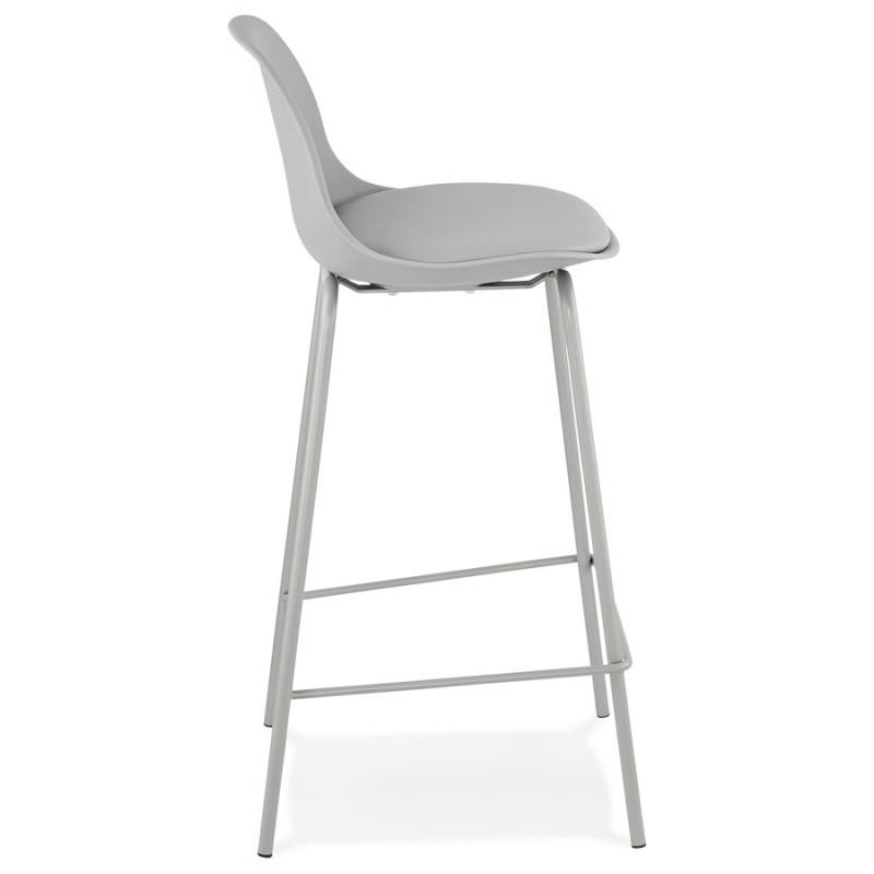 Bar pad a media altezza vintage piedi grigio chiaro OCEANE MINI (grigio chiaro) - image 46661