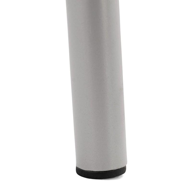 Bar stool industrial bar chair with light gray legs OCEANE (light gray) - image 46688