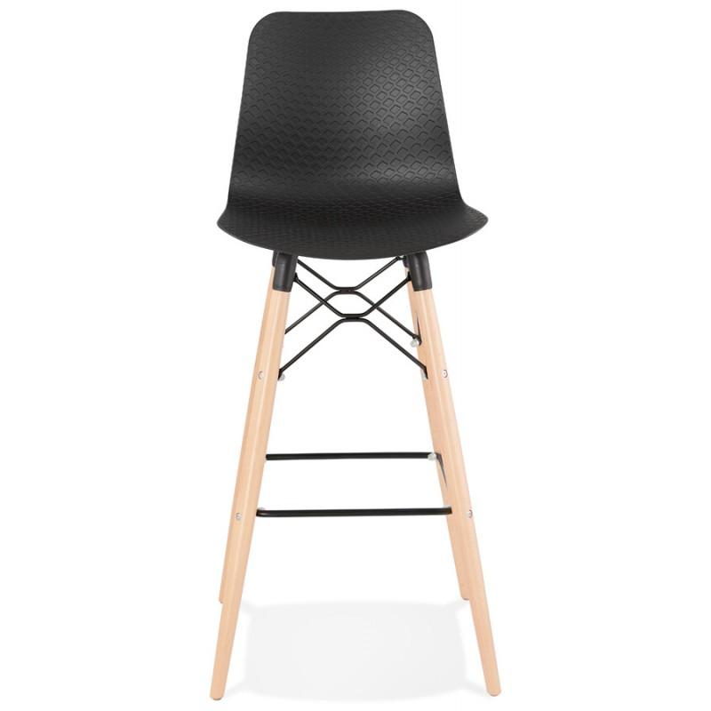 FAIRY skandinavischen Design Barhocker (schwarz) - image 46705
