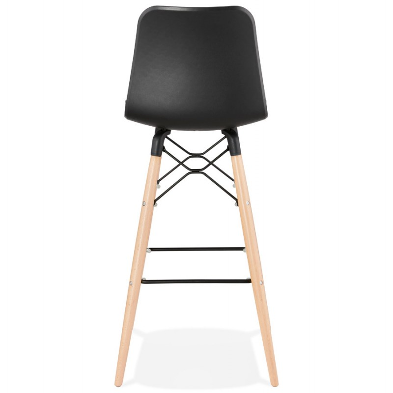 FAIRY skandinavischen Design Barhocker (schwarz) - image 46708