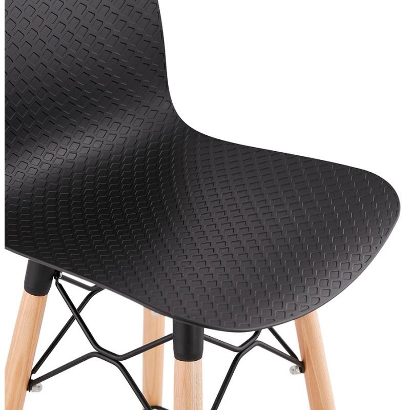 FAIRY skandinavischen Design Barhocker (schwarz) - image 46710