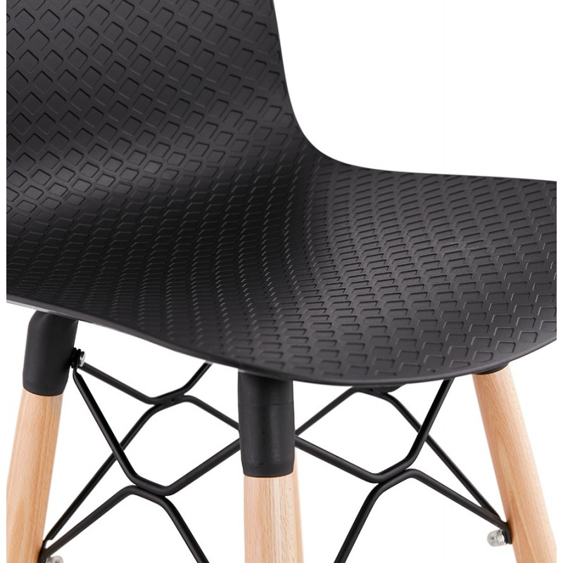 FAIRY skandinavischen Design Barhocker (schwarz) - image 46711