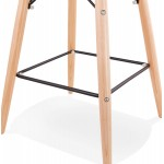 FAIRY skandinavischen Design Barhocker (schwarz)