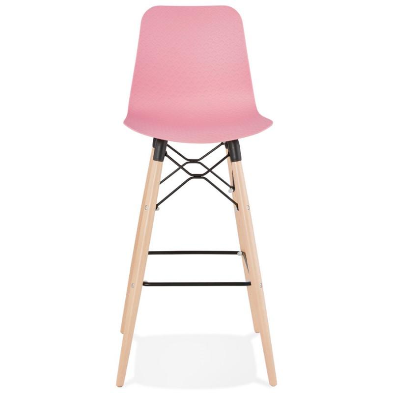 Sgabello barra di design scandinavo FAIRY (rosa) - image 46750