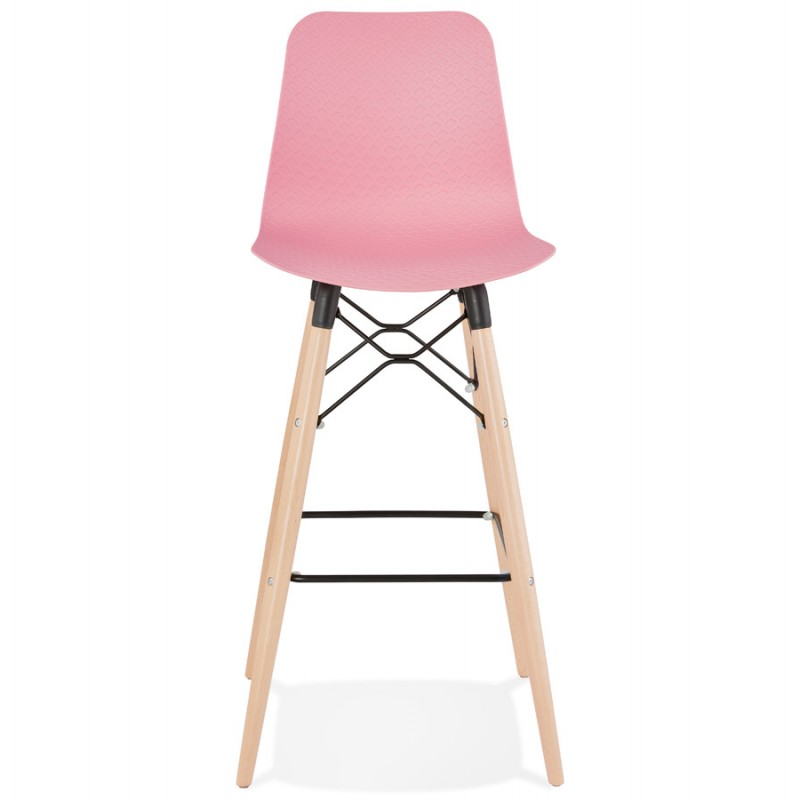 FAIRY Scandinavian design bar stool (pink) - image 46750