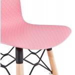 Sgabello barra di design scandinavo FAIRY (rosa)