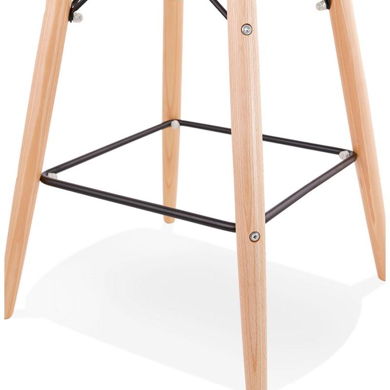 Tabouret de bar design scandinave FAIRY (rose) - image 46762