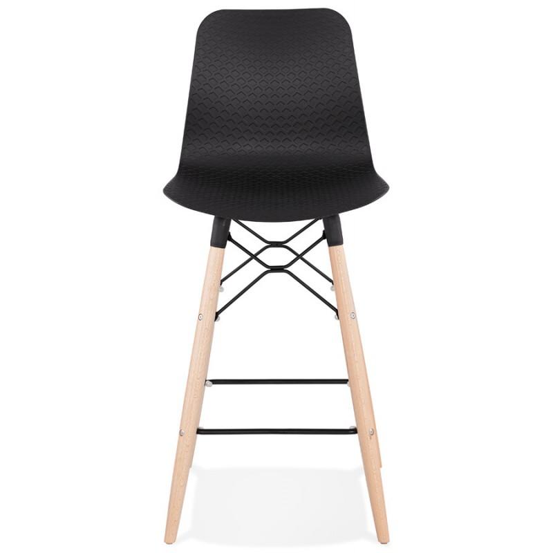 Scandinavian mid-height bar set FAIRY MINI (black) - image 46780