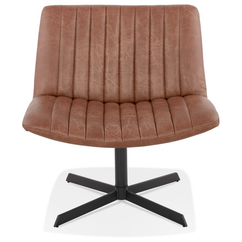 PALOMA swivel vintage chair (brown) - image 47278