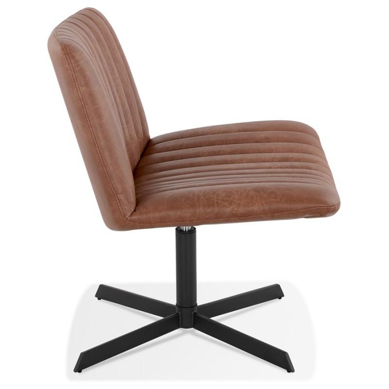 PALOMA swivel vintage chair (brown) - image 47279
