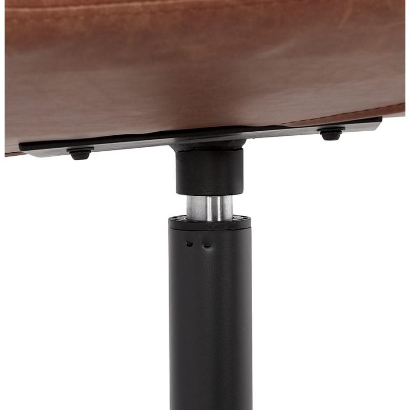 Silla vintage giratoria PALOMA (marrón) - image 47287