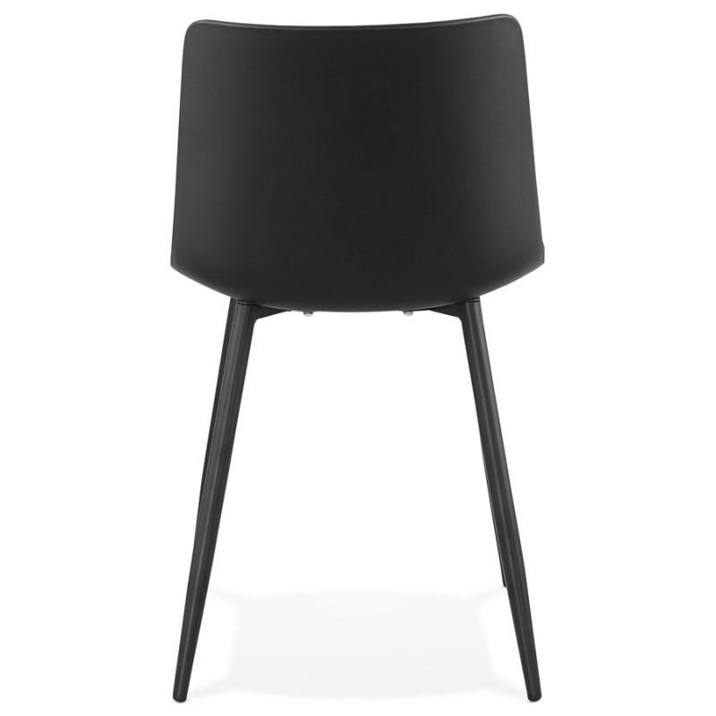 Chaise design et contemporaine MANDY (noir) - image 47581