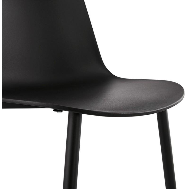 Chaise design et contemporaine MANDY (noir) - image 47583
