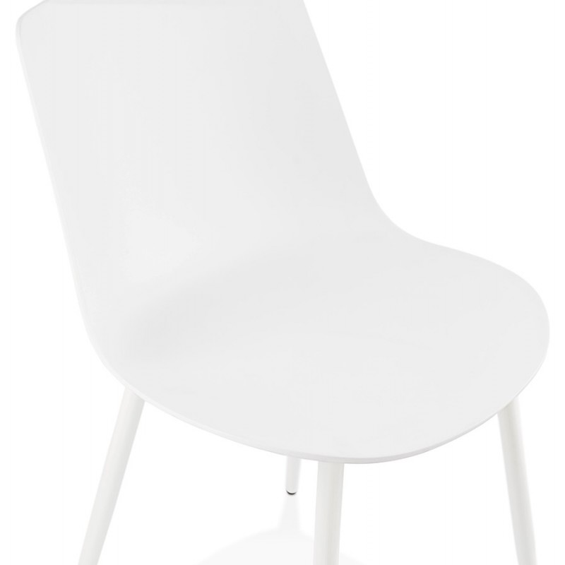Chaise design et contemporaine MANDY (blanc) - image 47595