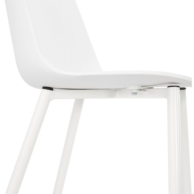 Chaise design et contemporaine MANDY (blanc) - image 47599
