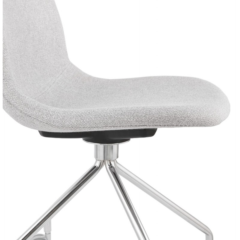 Office chair on MARYA fabric wheels (light grey) - image 47639