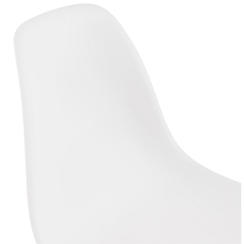 Industrial design chair feet white metal MELISSA (white) - image 47780