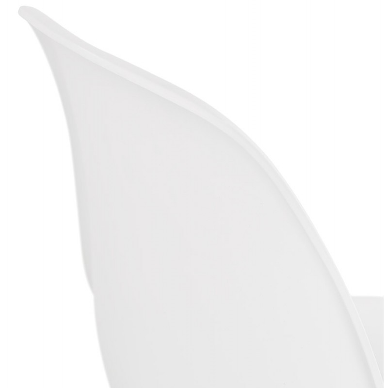 Design industriale piedi sedia bianco metallo bianco MELISSA (bianco) - image 47784