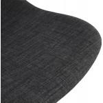 Sedia da ufficio su ruote in tessuto MARYA (grigio antracite)