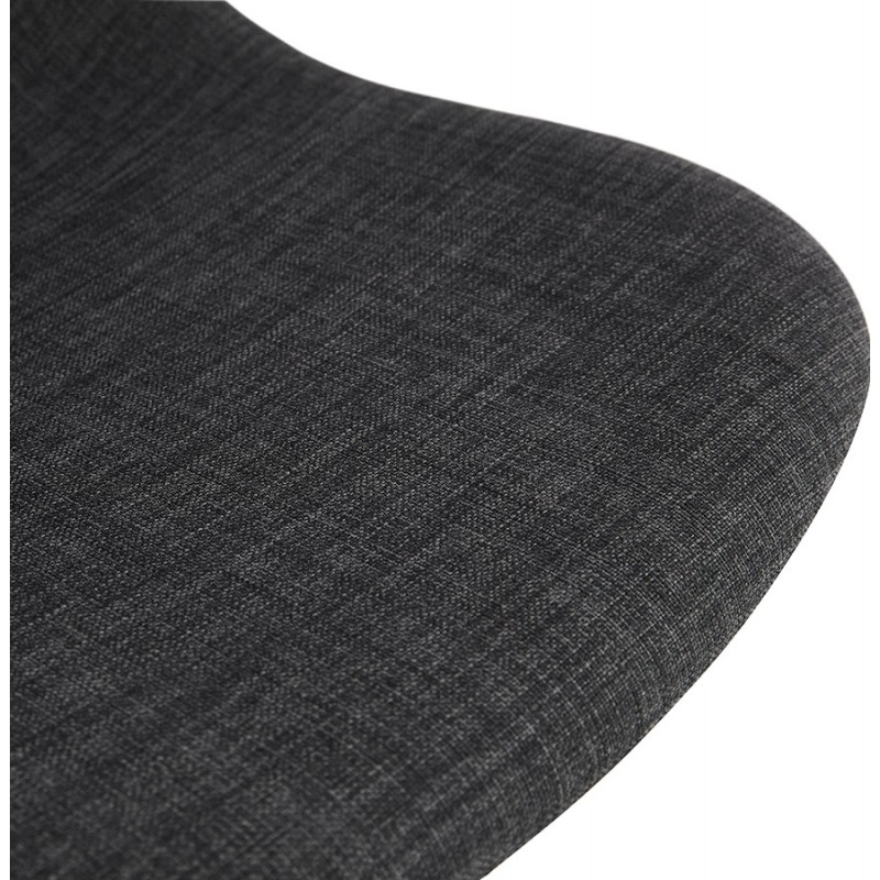 Bürostuhl auf Rädern aus MARYA-Stoff (anthrazitgrau) - image 48087