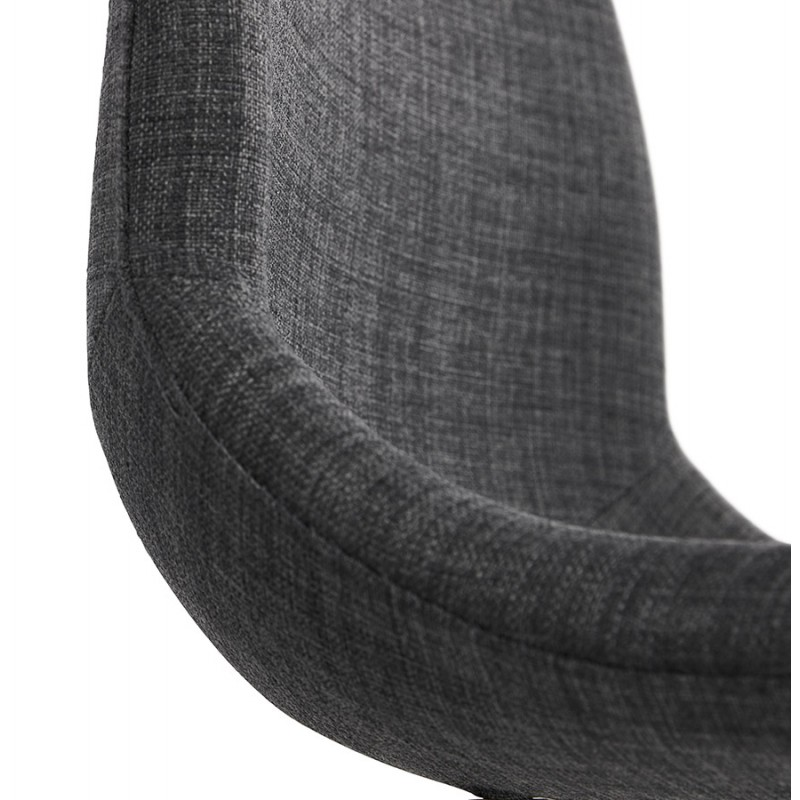 Bürostuhl auf Rädern aus MARYA-Stoff (anthrazitgrau) - image 48090