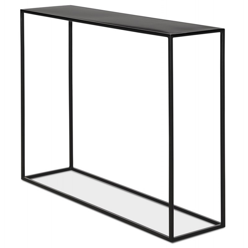Consola de metal INDUSTRIAL ROSALINE (negro) - image 48345