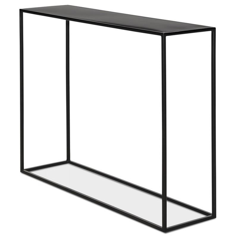 Console industrielle en métal ROSALINE (noir) - image 48345
