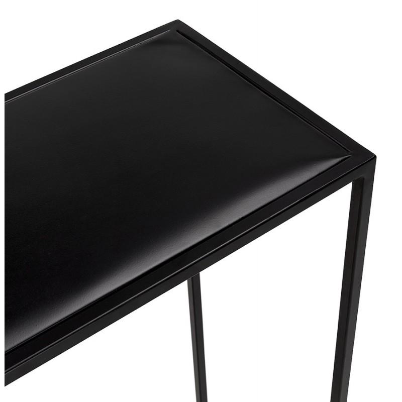 Consola de metal INDUSTRIAL ROSALINE (negro) - image 48347