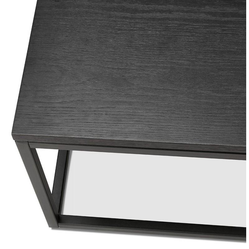 Mesa de centro de diseño industrial ROXY (negro) - image 48371