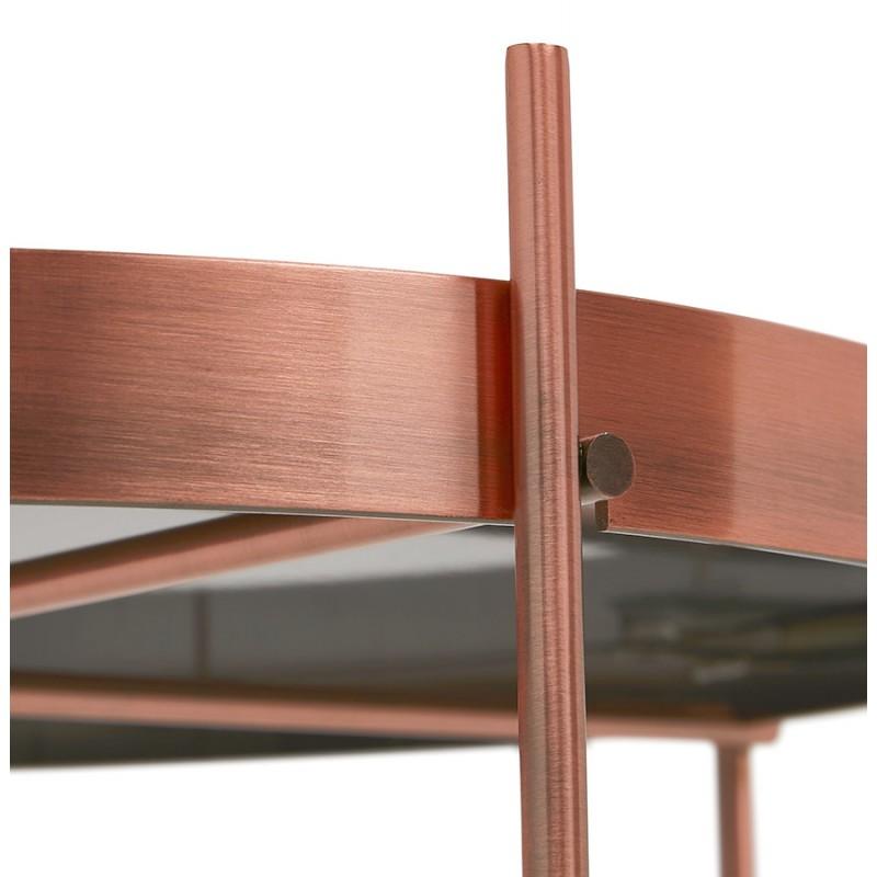 Table basse design RYANA BIG (cuivre) - image 48478