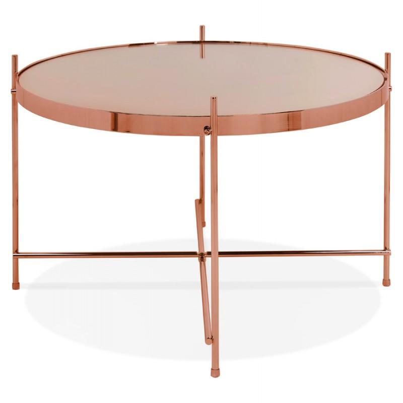 Table basse design, table d'appoint RYANA MEDIUM (cuivre) - image 48501
