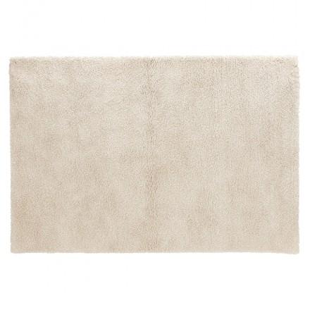 Rechteckiger Designteppich - 160x230 cm SABRINA (beige)