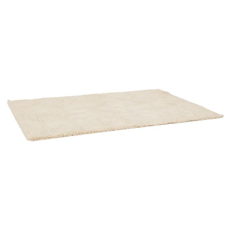 Tapis design rectangulaire - 120x170 cm SABRINA (beige) - image 48554