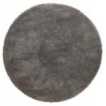 Alfombra de diseño redondo (200 cm) SABRINA (gris oscuro)