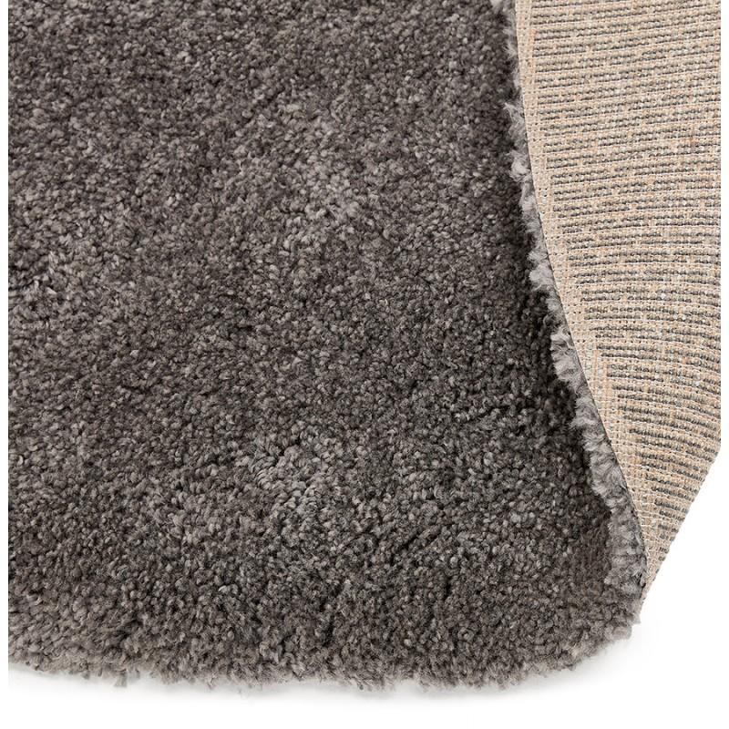 Tapis design rond (Ø 200 cm) SABRINA (gris foncé) - image 48566