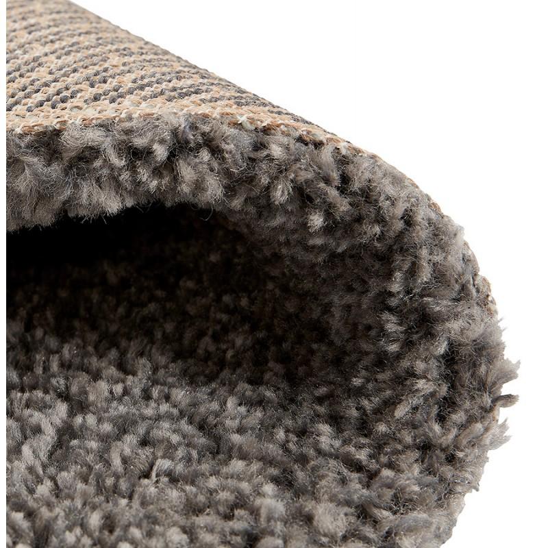Tapis design rond (Ø 200 cm) SABRINA (gris foncé) - image 48567